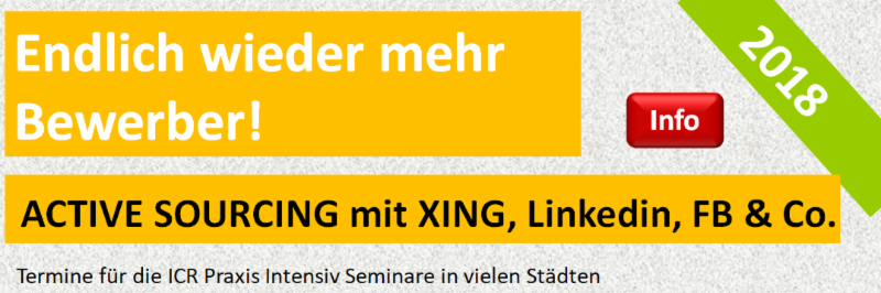 Active Sourcing Die Zukunft Des Recruitings Icr Institute For